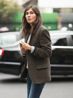 Emmanuelle Alt. The jacket