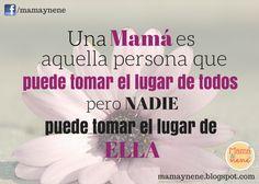Frases especiales para mamá. Amor maternal. Día de la Madre. Mother's day. Maternidad.