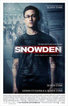斯諾登風暴 | Snowden  (134min/ 2016)    #JosephGordon-Levitt,   #ShaileneWoodley   #MelissaLeo   #OliverStone    #France   #Germany   #USA   #Movie   #Poster