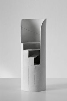 """ART HuNTER — Ricky Swallow [Australia] (b ~ """"Stair Principle (front view)"""", Patinated bronze x 11 x 11 cm). Abstract Sculpture, Sculpture Art, Modern Art, Contemporary Art, Concrete Sculpture, Shadow Art, Shape Design, Installation Art, Bronze"""
