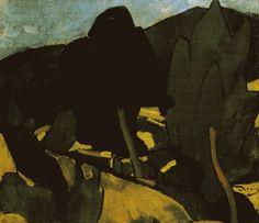 Andre Derain Paysage a Cassis - Landscape in Cassis 1907