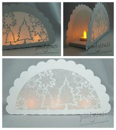 Pookysusi´s Planet: Freebie SVG DIY Exquisite tea light holder luminary with winter scene
