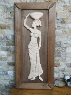 Canvas Art Projects, Metal Art Projects, African Art Paintings, Madhubani Art, Africa Art, Mural Wall Art, Wooden Art, Tribal Art, Clay Art