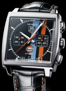 Cool Stuff We Like Here @ http://CoolPile.com ------- > ------- TAG Heuer Monaco Stripes: Stars?   TAG Heuer Watch Reviews