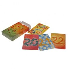 Waldorf Math Cards - Set of 64 Additional Numbers bring imagination and joy to learning!