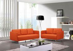 Couleur chaude et généreuse, le orange s'intègre bien à un salon. Comment obtenir un joli salon orange ? Hubstairs vous donne quelques conseils déco.