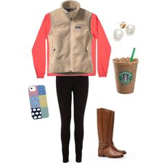 """""""Comfy School Outfit"""" by itstangie on Polyvore"""