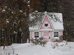 Lovely little pink cottage