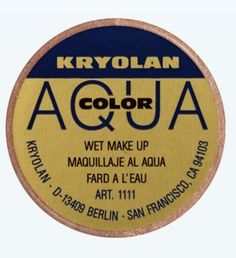 Kryolan 1111 Aquacolor Metallic 8ml Professional Makeup Color Circle Bronze * This is an Amazon Affiliate link. Details can be found by clicking on the image.