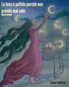 La luna è pallida perché non prende mai sole. Roberto Gervaso