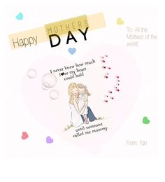 """Happy Mother's Day to All the Mothers of the World."" by linkfari ❤ liked on Polyvore featuring interior, interiors, interior design, home, home decor and interior decorating"