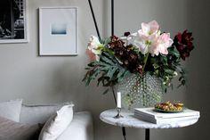 Blommande amaryllisar & tack