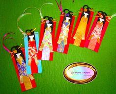 Japanese Doll Bookmark