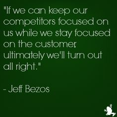 Jeff Bezos (CEO and Founder of Amazon) quote on #custserv http://www.ezanga.com/news/2013/09/06/customer-service-quotes/