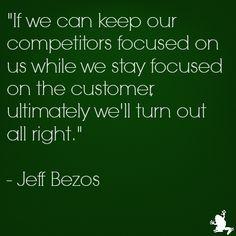 Jeff Bezos (CEO and Founder of Amazon) quote on #custserv http://www.ezanga.com/news/2013/09/06/customer-service-quotes/