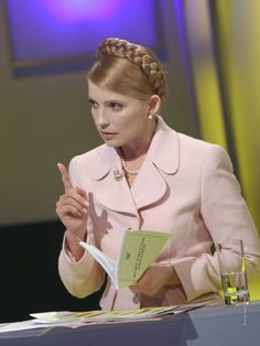 I probably shouldn't be talking about Yulia Tymoshenko and fashion when she's in prison. But... She's such a beautiful and well-dressed woman!