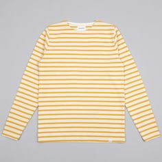 Norse Projects Godtfred Compact T-Shirt - Mustard Yellow