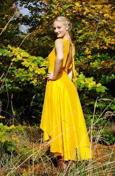 """Abendkleider - Kleid """"Gold"""" - ein Designerstück von Stadtkleid bei DaWanda"""