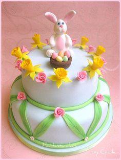 Torta Coniglio di Pasqua / Easter Rabbit Cake