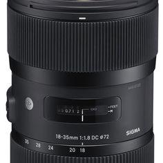 Das lichtstärkste Zoomobjektiv kommt von Sigma: 18-35mm F1,8 DC HSM