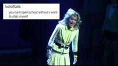 Heathers: the musical. Hahaha