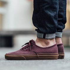 Vans Authentic (Washed Canvas) - Port Royale/Gum  available now in-store and online @titoloshop Berne | Zurich