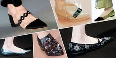 flat shoes runway street style trend 2014 2015