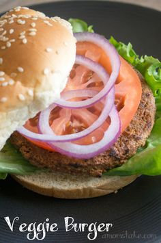 Easy Veggie Burger