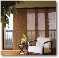 Love using #panels on a large window or sliding glass door