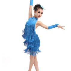 >> Click to Buy << New Arrival Hot Kid Girl Tassel Dress Ballroom Latin Salsa Dance wear Party Dance Costume #Affiliate