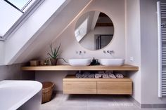 Loft Bathroom, Shared Bathroom, Dream Bathrooms, Bathroom Images, Bathroom Design Small, Bathroom Interior Design, Bathroom Design Inspiration, Bad Inspiration, Small Toilet Room