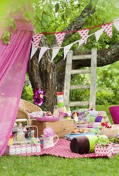 Fiestas infantiles estilo picnic - Decoración de Interiores y Exteriores - EstiloyDeco