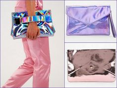 Tendencia Verano 2013: Clutches XL Destellantes!!!