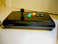Arcade and Video Game Modding: Customer Mod - Arcade Stick Madcatz TE S with Dual Strike, TEasy and black plexi