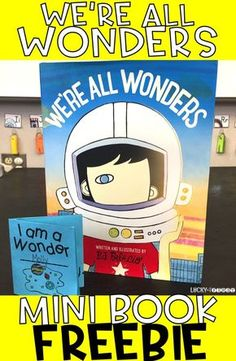 We're All Wonders Mini Book Freebie | Students Reflect on the World with this little book! via @mbuckets