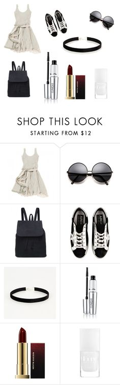 """""""Başlıksız #27"""" by gokce78350 ❤ liked on Polyvore featuring BOSS Orange, Golden Goose, Clinique and Kevyn Aucoin"""