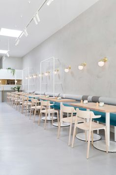 Chicdeco Blog |   A 1950's Greek Delicatessen Inspired Cafe