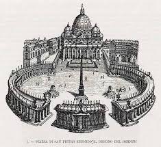 basilica di san pietro colonnato originale - Cerca con Google