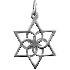 Abstract Star of David