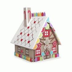 Silhouette Design Store - View Design #102102: christmas village - gingerbread house