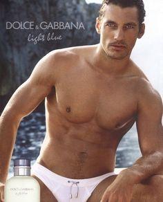 David Gandy - Ph: for Dolce & Gabbana Light Blue Fragrance 2011