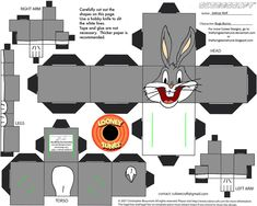 LT1: Bugs Bunny Cubee by TheFlyingDachshund on deviantART