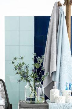 Jacquard-weave bath towel £12.99