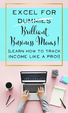 Great tutorial on using excel for business. I finally know how to track expenses and income for my etsy shop! Great business finance tips for anyone with an online shop.   brilliantbusinessmoms.com