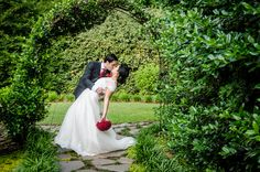 Gorgeous outdoor wedding venue: Little Gardens in Lawrenceville, GA Bridal Portraits Outdoor, Bridal Portrait Poses, Outdoor Wedding Photography, Outdoor Wedding Venues, Wedding Photography Poses, Wedding Poses, Photographer Wedding, Portrait Ideas, Couple Photography