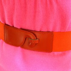 Loving the #colorblocking trend... and mom's #vintage belt & dress were the perfect inspiration!