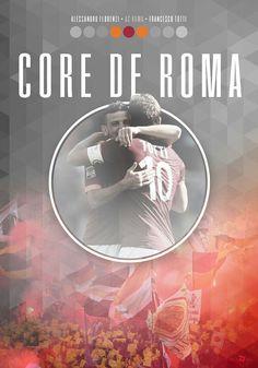 #ASRoma #Roma #Totti #Florenzi As Roma, Legends, Movies, Movie Posters, Football, Graphics, Soccer, Futbol, Films