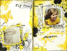 Fly Free // like the scribbles