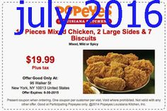 Popeyes Chicken Coupons Ends of Coupon Promo Codes MAY 2020 ! Do not settle when you crave fried chicken. Free Printable Coupons, Free Printables, Worlds Best Chicken, Franchise Restaurants, Dollar General Couponing, Cajun Rice, Popeyes Chicken, Fried Chicken, Southern Chicken