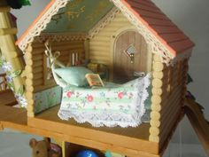 Sylvanian Family Decorated Treehouse 2in1 Christmas Summer Fully Furnished L K | eBay